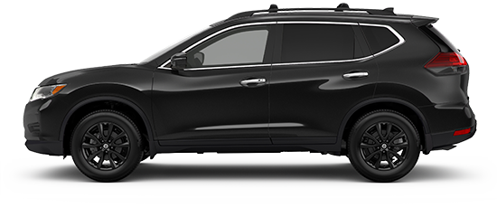 Photo of the Nissan Rogue Midnight Crossover vehicle.