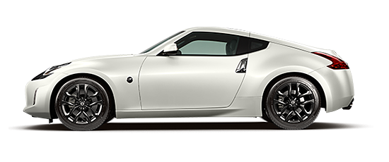 Photo of the Nissan 370Z® Coupe, V-6 with 6-speed manual transmission.